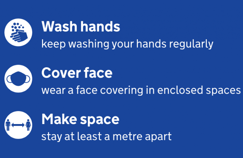 Wash Hands - Cover Face - Make Space